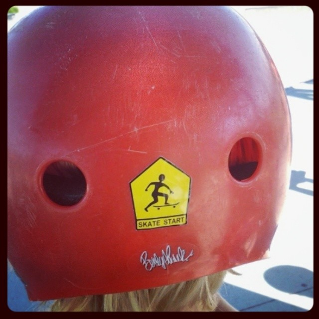 We've got stickers! #bouttime #protec #Skatestart