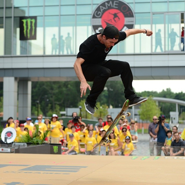 At the #ESPNGameOfSkate, @mikemo landed: - An impossible late flip - A halfcab backfoot kickflip - An unpossible - A switchback 360 kickflip  Hit the link on our profile page to check out the competition's top five tricks.  Catch the full show this...
