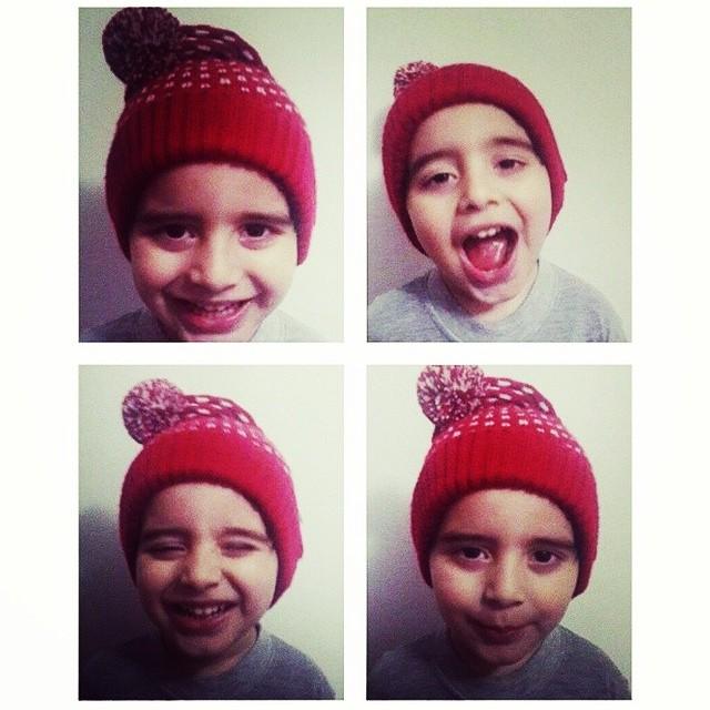 Lo canchero que es Milo el hijo de @disosa!  #diadelniño #paezaccesorios