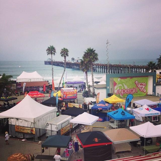 @luvsurfapparel @supergirlpro come by for a FREE trucker hat today! #supergirlpro #wearthecalidream #girlpower