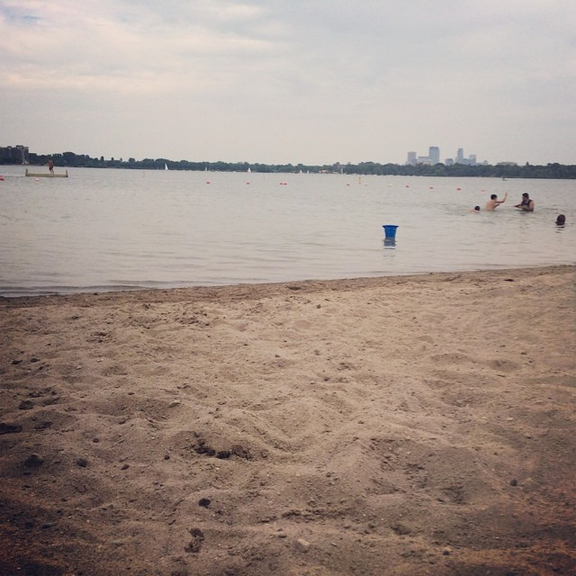 #lakebeach #forthewin #minneapolis #lakecalhoun #midwesttravels
