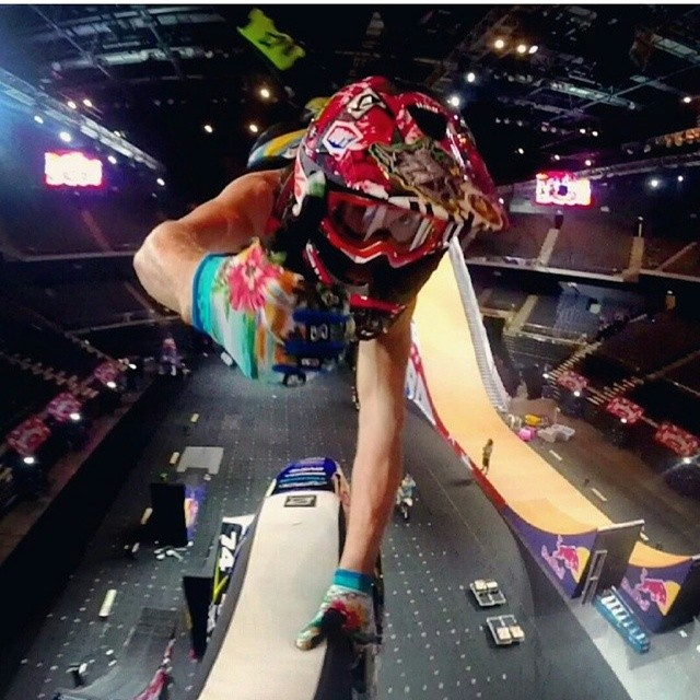 Regram: @jarrydmcneil if this is what they do in practice at nitro citcus get yourself to Macau to see the show live #nitrocircus #sendit