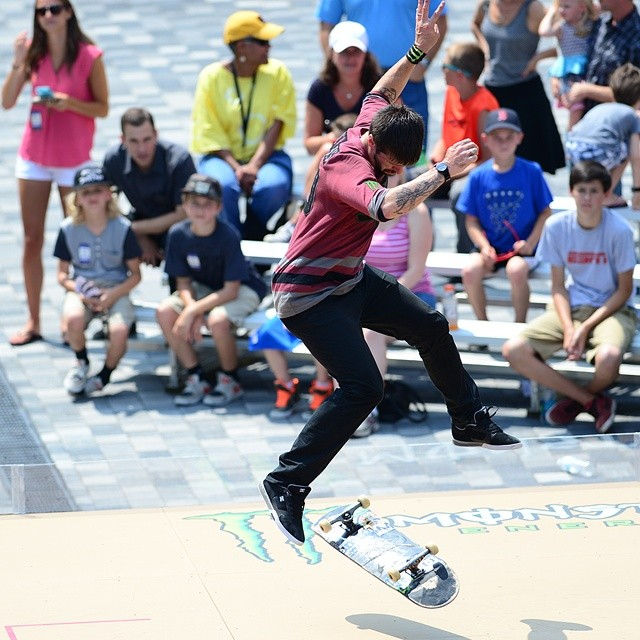Today is the day!  The first-ever #ESPNGameOfSkate airs on ABC today at 5 pm ET and 3 pm on the West Coast. (Photo via @espn_images)