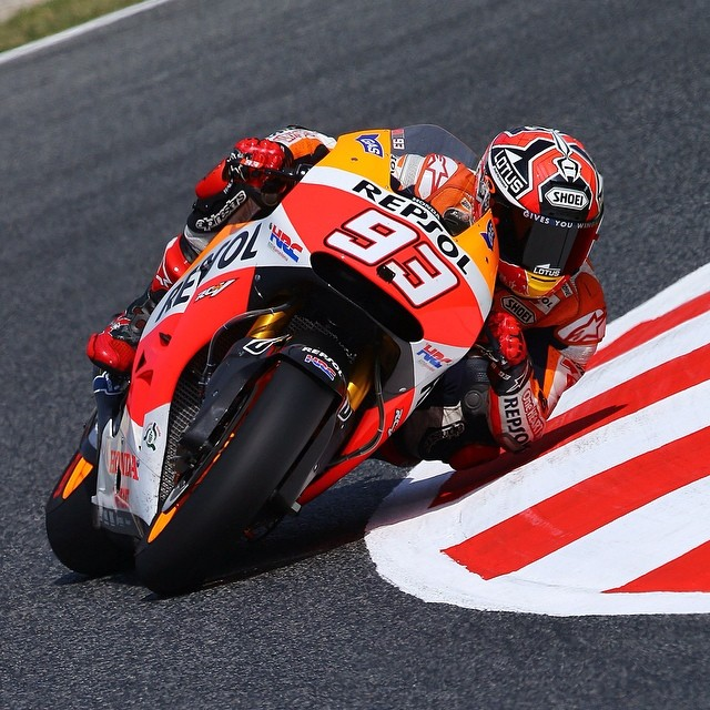 Congrats @marcmarquez93 on going 10 for 10 at the @indianapolismotorspeedway #MotoGP!