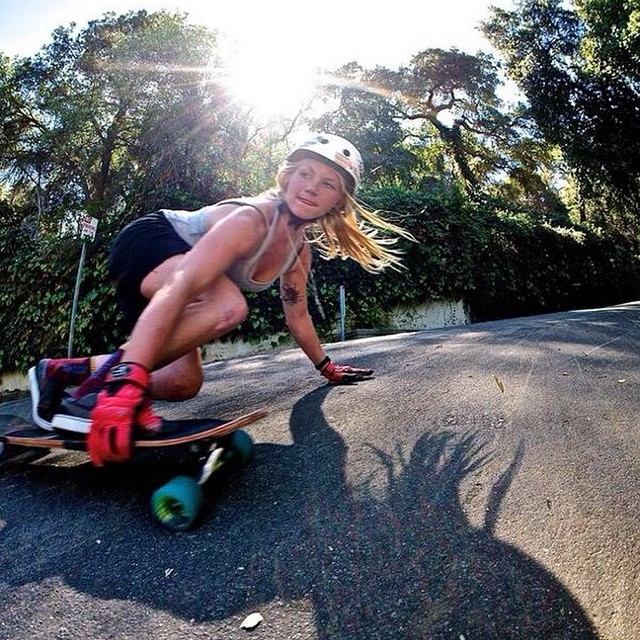 Happy bday to the one and only @amandapowellskate. We love you Mander! @imantisocial photo #TheCommander #longboardgirlscrew #ladiesofshred