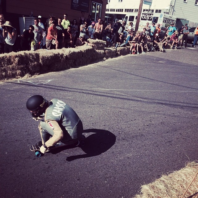 Big congratulations to Team rider Mike Carson--@mcarsonlikescats crushing it all weekend at the @cathlametdhcorral!  Today he placed 7th in the race amongst some strong competitors!  #michaelcarson #bonzing #cathlametdh #giantdetour2014 #cleanwatertour