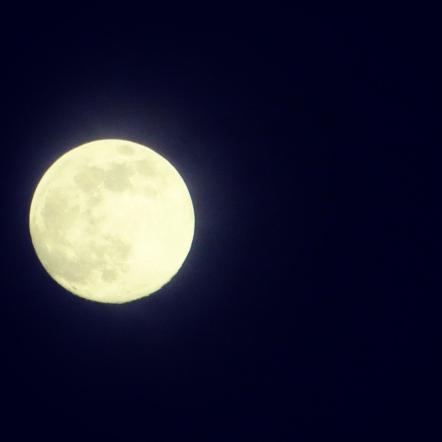 #SUPERMOON, as seen from Bahia Ballena, Costa Rica