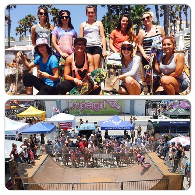 Thanks so much to all the fans and skaters that came out to the #EXPOSURE demos at this weekend's @supergirlpro in #Oceanside. We really appreciate the support and we hope you had fun!