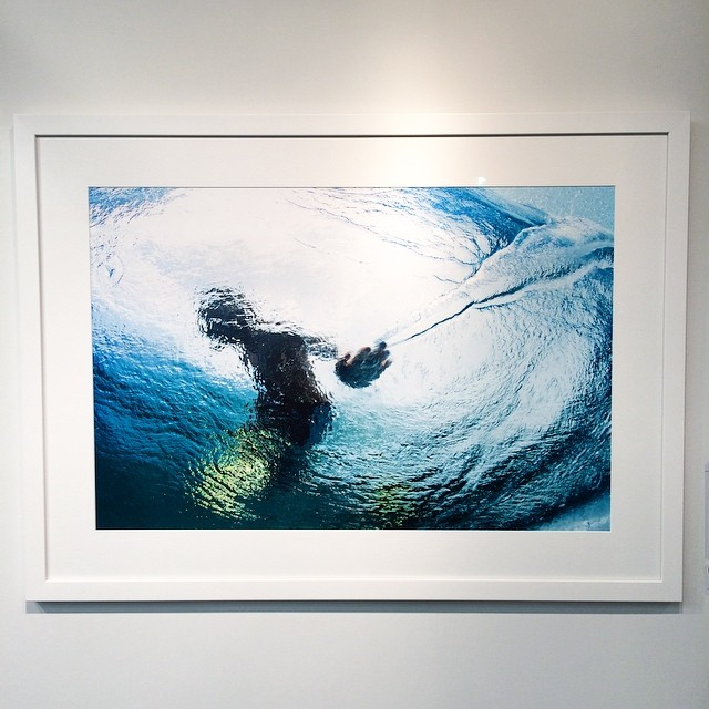 "@toddglaser photo of @craig__anderson entitled ""Hand Jive"" is on display at the @asymbol art + essentials gallery. It was taken in Tahiti during the filming of ""This Time Tomorrow."" #stylepoints #ando #thetimeisalwaysnow"