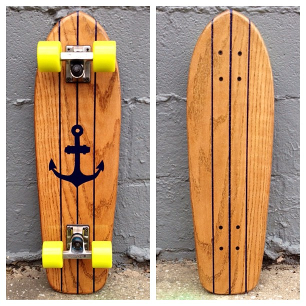 This classic nautical cruiser just went live at www.salemtownboardco.com