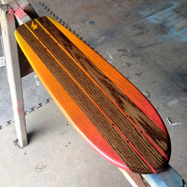 More cruiser heat to keep you warm this winter. Kona stain. Fire Sunburst Fade. Too Legit.