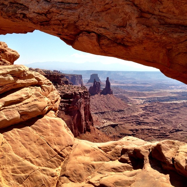#peakdesign team #fieldtrip to #canyonlands. Not too shabby out here.