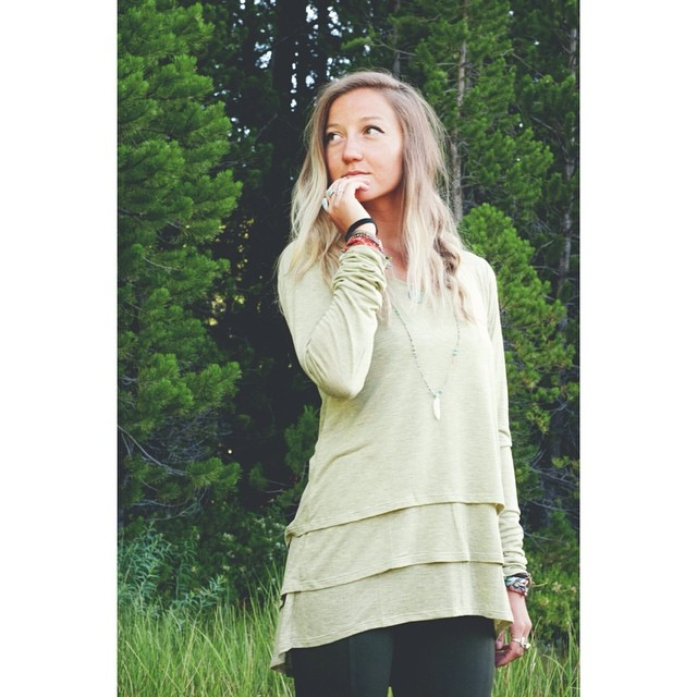 The Velma in sage. Perfect for an August afternoon. Get yours in our online shop // #tahoemade #madeinSF