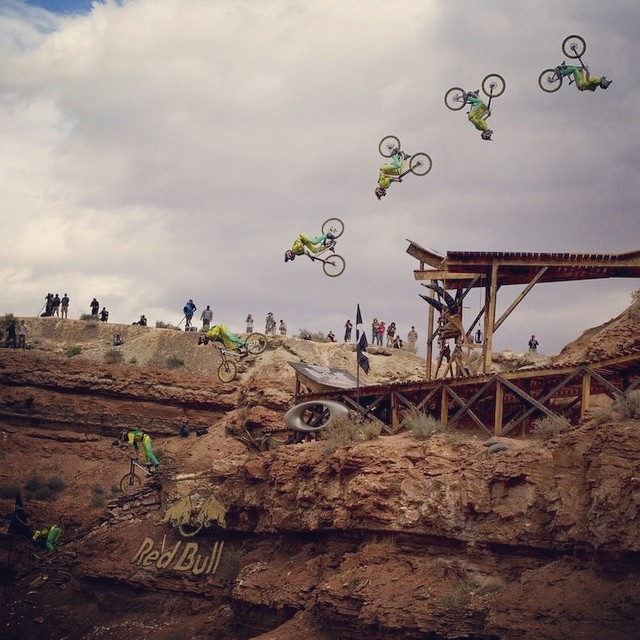 #epic #Rampage Reloaded: @camzink's 2013 backflip.
