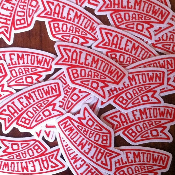 New STBCo die cut stickers just arrived!