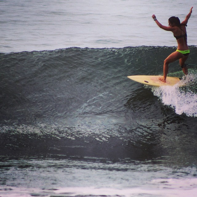 T is for Tuesday! Not sure what I'm doing here, but I'm sure it was pretty sick in my own mind. #surf #elsalvador #surfbikini #bikini #pocket #sannyfranny #sanfrancisco