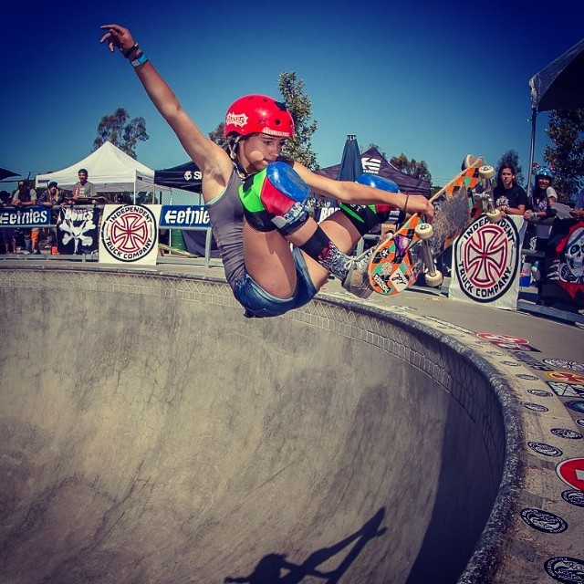 @flying_arianna got 2nd up at #timbrauch ! Congrats !! Photo: #timfuller . Arianna wears the S1 Lifer Helmet #timbrauch #skateboarding . Note: saw Tim skate in Europe back in the late 90s ... Amazing person and amazing skateboarder. #skateforever