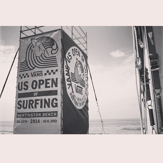 This #summer  will last #forever. #upcycled US Open of Surfing banners coming soon!  #recycle #surfing #surf #huntington #usopenofsurfing #usopen #bthechange