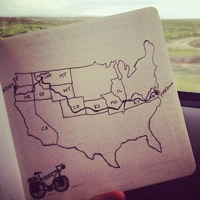 Humpday roadtrip fantasies sketched by @1924us