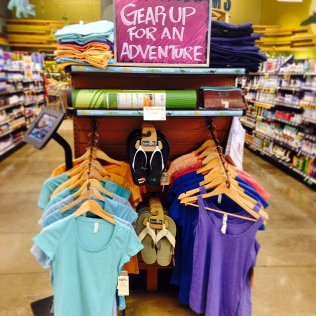 Adventure seeking this weekend? @wfmwinston looks ready! T4T basics are perfect for the great outdoors. #greatoutdoors #musthave #style #wholebody #glamping #getaway