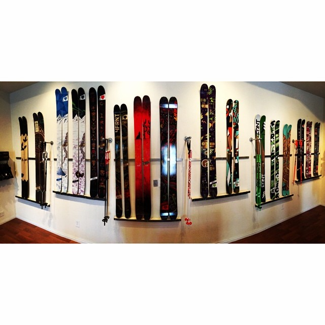 New skis are up in The StoreFRNT. Look for them online soon. #riderowned #shapingskiing