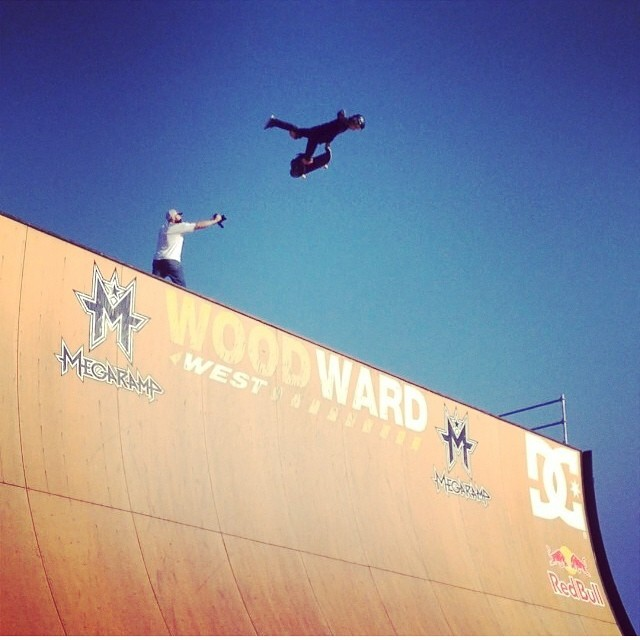 Regram @heimana_reynolds have fun at @woodwardwest @woodwardskateboarding  photo by @local808hi #skateboarding #megaramp #antijudo Heimana wears the S1 Lifer Helmet . The Lifer is 5x more protective than soft foam skate helmets.