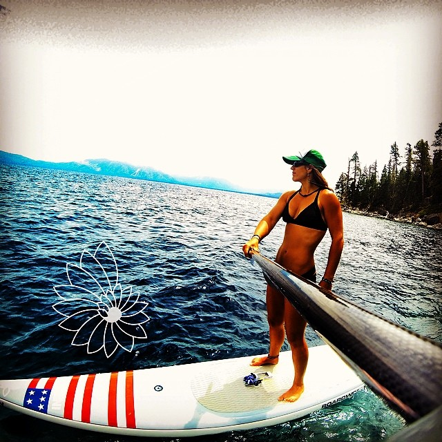 Getting excited about my first major flatwater sup race at the #tahoenalu. Finally have a chance to race against some of the most badass chicks out there doing what they love! @lgyoga @waveofwellness @localhoneydesigns