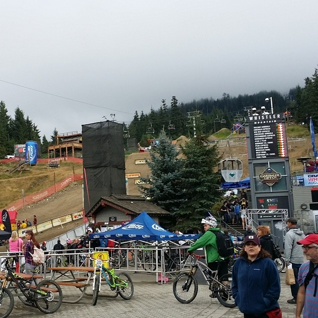 The @redbull joyride course looks insane this year!  Tune in live Saturday @pinkbike to watch Kali riders @nicholirogatkin and @antoinebizet Bizet  throw down.
