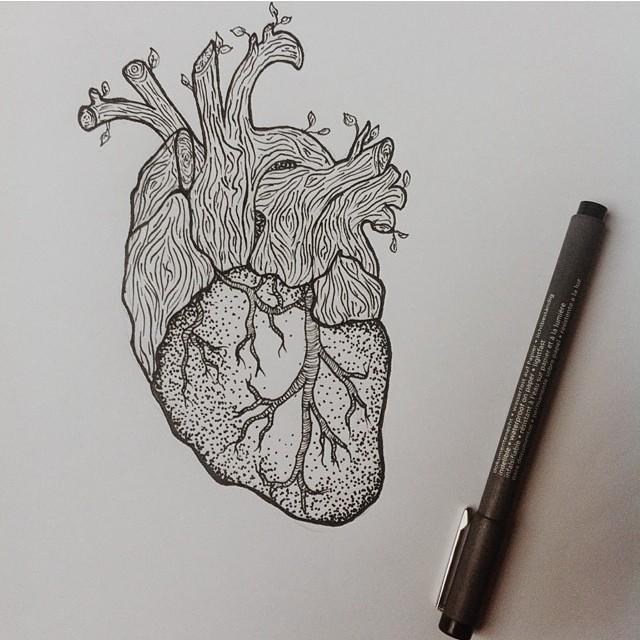 Listening to this organ, drawn by @amyvpackham
