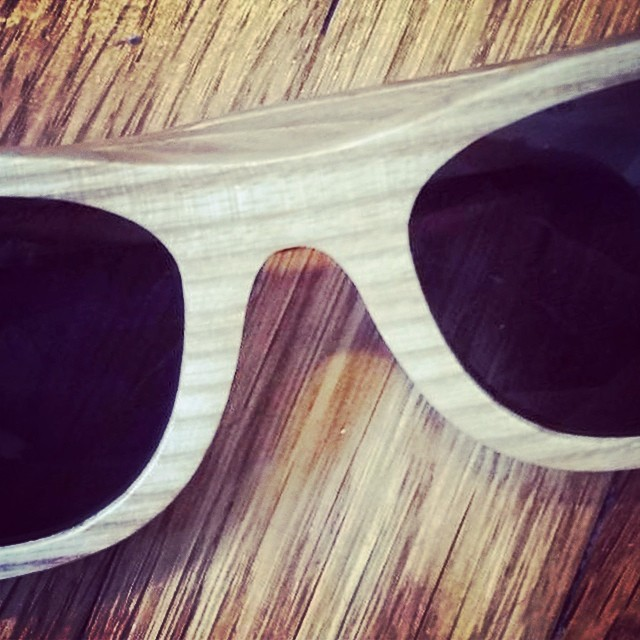 """Wine Glasses"" prototype/concept -made from oak barrel staves!"