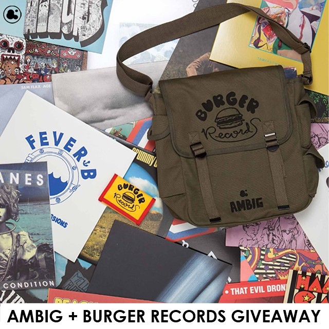 Win our new record bag we did with @burgerrecords4life filled with loads of your favorite Burger records and Ambig clothing!! To enter just re-post this photo and tag #ambigclothing #burgerrecords4life and @ambigclothing . We'll pick 2 winners on...