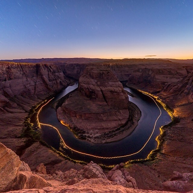Horseshoe Bend #NatureOfProof PC: @frankklopez