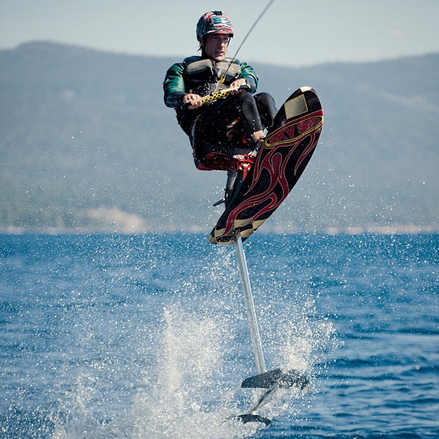 Boarding a flight from #Maui to the land of #SkySki hydrofoils, @centurionboats, @apbspeakers events, continued @hi5sfoundation therapy, #friendsandfamily!!! #TBT to that uber magical day w/ @thepoby, @bigtruckbrand & @shawnakorgan on #Tahoe |...