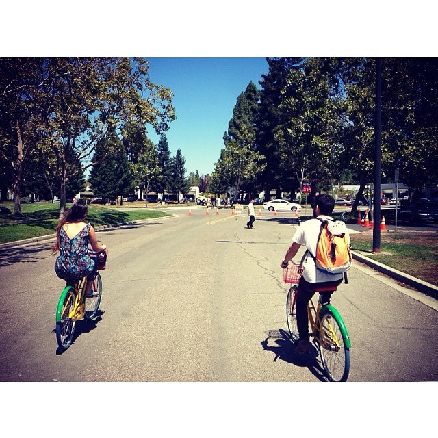 Hola #GoogleHQ !  #discoverpack #discover #tech #Cupertino #ride