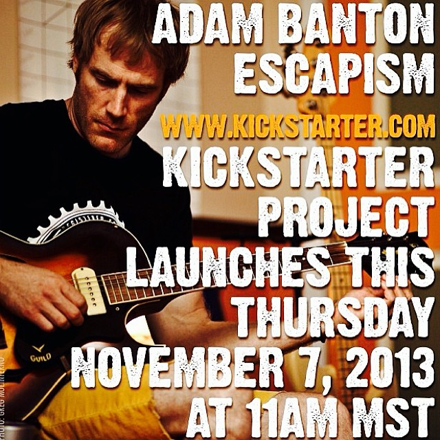 Our BMX team rider @adambanton is not only a great rider, he's also a great musician. He's launching a Kickstarter to get his new album finished. Go follow our BMX page @s1bmx  for updates on Adam and the rest of the BMX team.