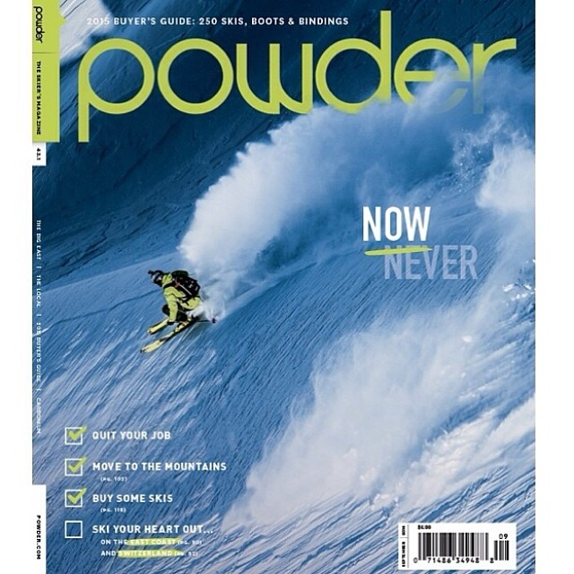 Winter is coming...congrats to our buddy @codytownsend! @powdermagazine @arcadebelts