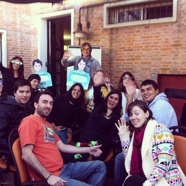 In Buenos Aires HQ we said good bye to our old chairs with a master class from Nico,our Business Manager #paezteam