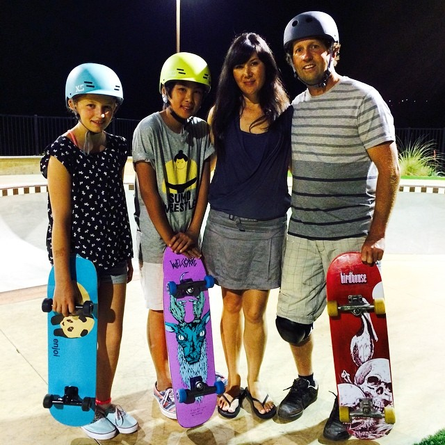 Ran into the @xshelmets family last night at @alganorte. Stoked that XS will be sponsoring the learn-to-skate clinics at #EXPOSURE2014!