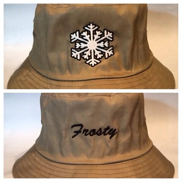 Khaki #buckethat now on sale through www.frostyheadwear.com #frostyheadwear #quickstrike