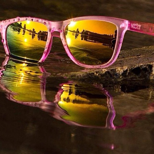 The golden hour. Enjoy the weekend in your favorite sunnies    #nectarshades #thesweetlife #doepicshit