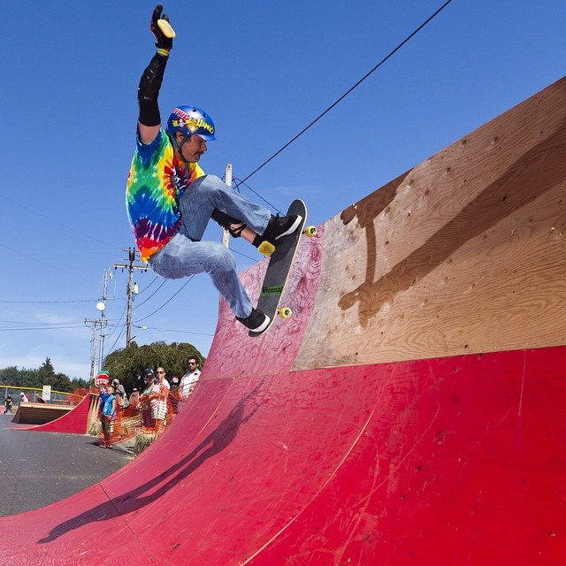 Team rider Michael Carson--@mcarsonlikescats at the Cathlamet Corral!  Have a great weekend!