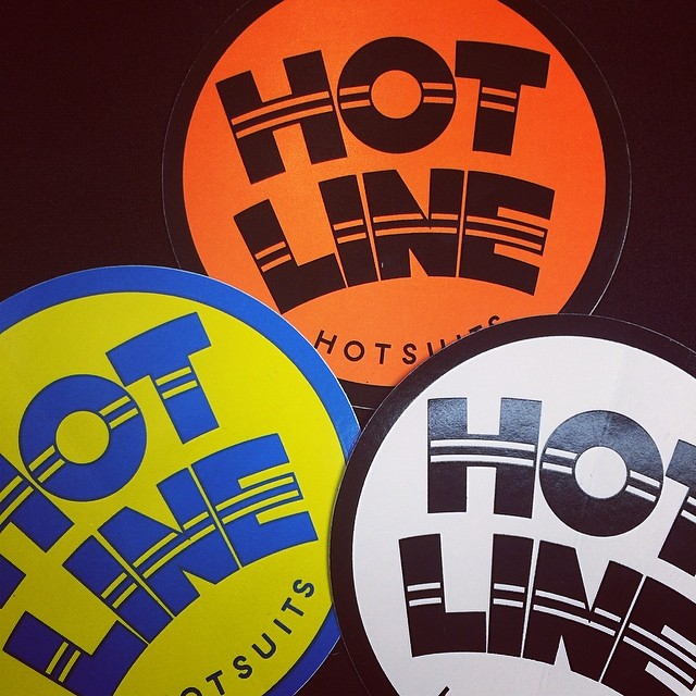~New Hotline stickers in today! ~ #SfGiants #Stickers #HotlineWetsuits