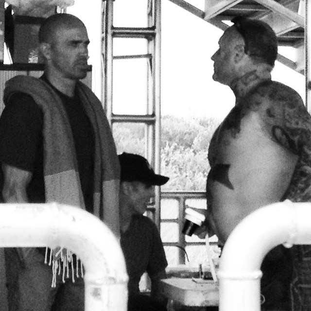 #Legends. Jay Adams and Kelly Slater. Trestles, 2013.
