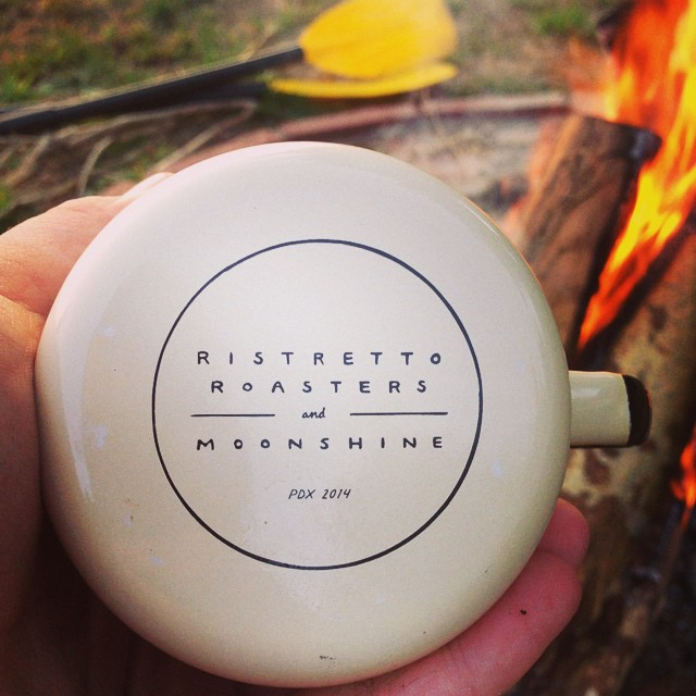 Perfect cup for the perfect morning. // #firewaterfriends #beach #camping