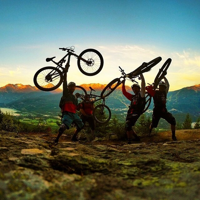Super pumped to watch our entourage riders destroy it at #crankworx this weekend! Rip it up boys! #permissiontoplay