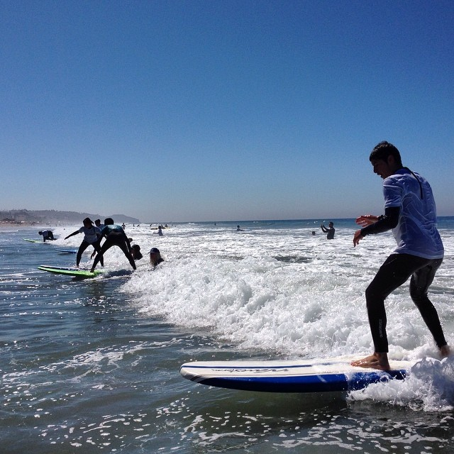 Stoked all down the line.  Surf Mentor 3 coming through strong on a beautiful day in Los Angeles.