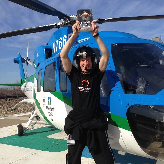 Inspiration extraordinaire, childhood friend, & #InclineHighSchool legend, #KeelanMcnulty is saving lives from the sky and choosing positivity on the daily!!! #InspiredByKeelan | #MadLuv | #TwoFeetBack | #choosepositivitynow.com