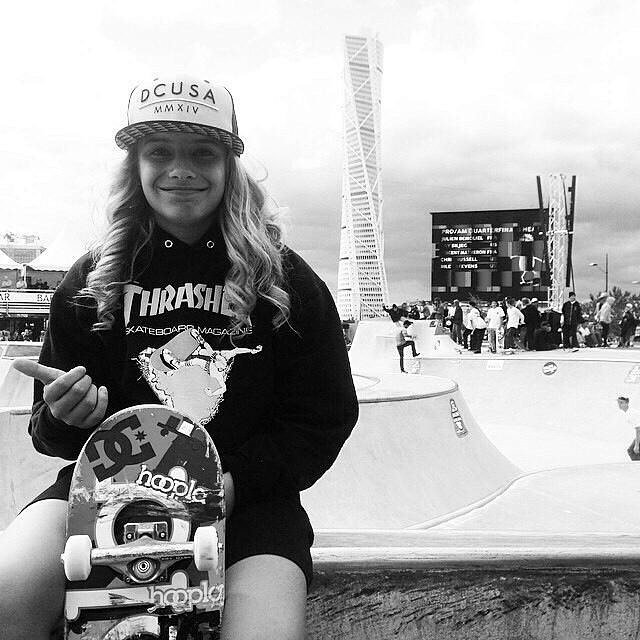 Congrats to Alana Smith (@alanasmithskate), who qualified 1st in women's and 7th in junior boys today at #UltraBowl in Sweden!  Ultra Bowl August 16, 2014 Malmo, Sweden  Women's Semifinals 1. Alana Smith 2. Julia Brueckler 3. Emma Fastesson Lindgren 4....