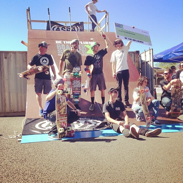 Big ups to our boy @tyler_howell_sb for winning his first Boarder X event down in Australia! Tyler and @brandontissen are down there on a skateventure tearing it up and taking part in one of the biggest Boarder X events in the world. Killing it guys!