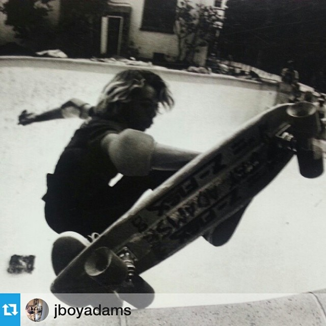 Farewell to a true pioneer and giant of #skateboarding, Jay Adams. Jay was an original Z Boy. His surf style and larger-than-life persona will live on... #Repost from @jboyadams #jayadams Photographer unknown.